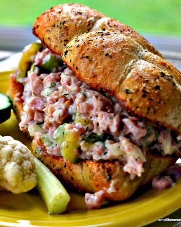 Grandma's Ham Salad