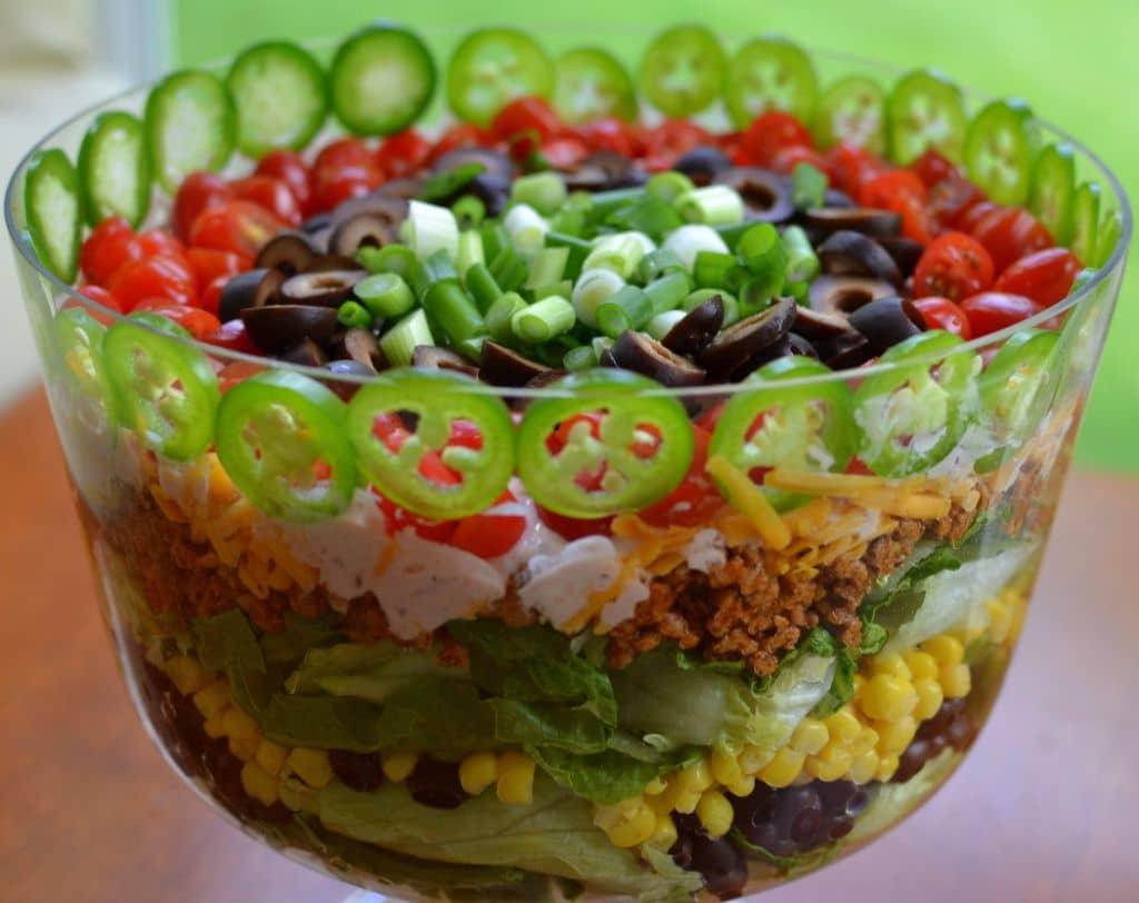 Layered Taco Salad (3)