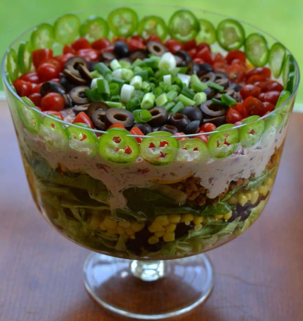 Layered Taco Salad (4)