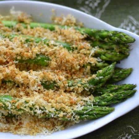 Parmesan Crumb Asparagus