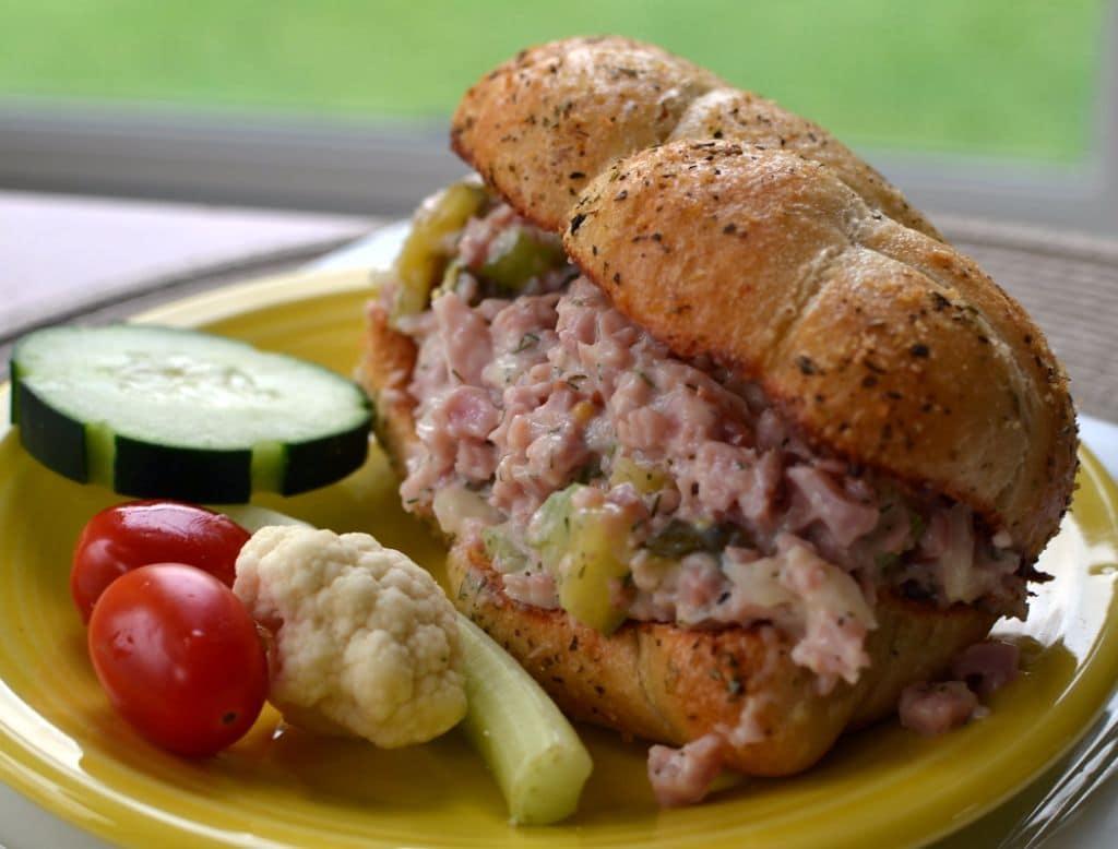 Sweet Smokey Ham Salad