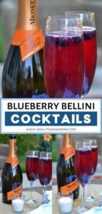 Blueberry Bellini