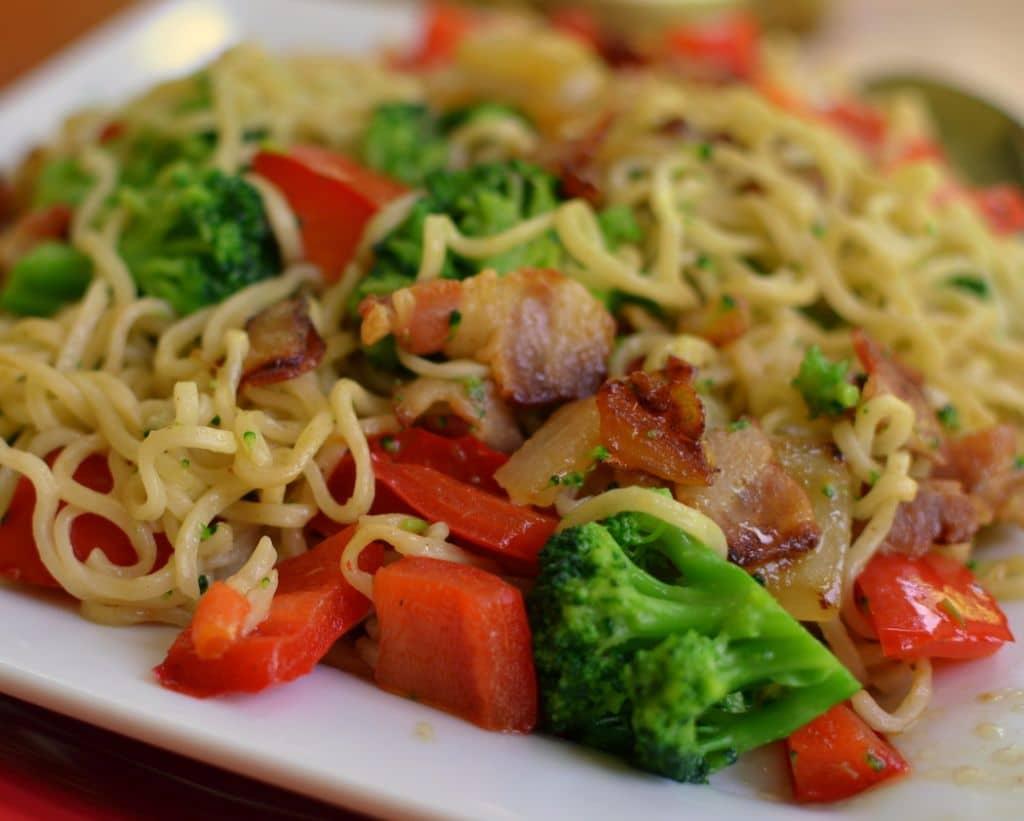 Broccoli Ramen Salad | Small Town Woman