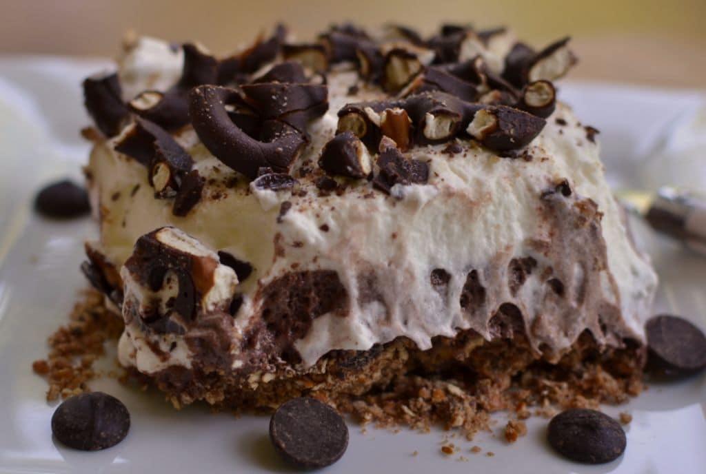 Chocolate Pretzel Lush Cake (4)