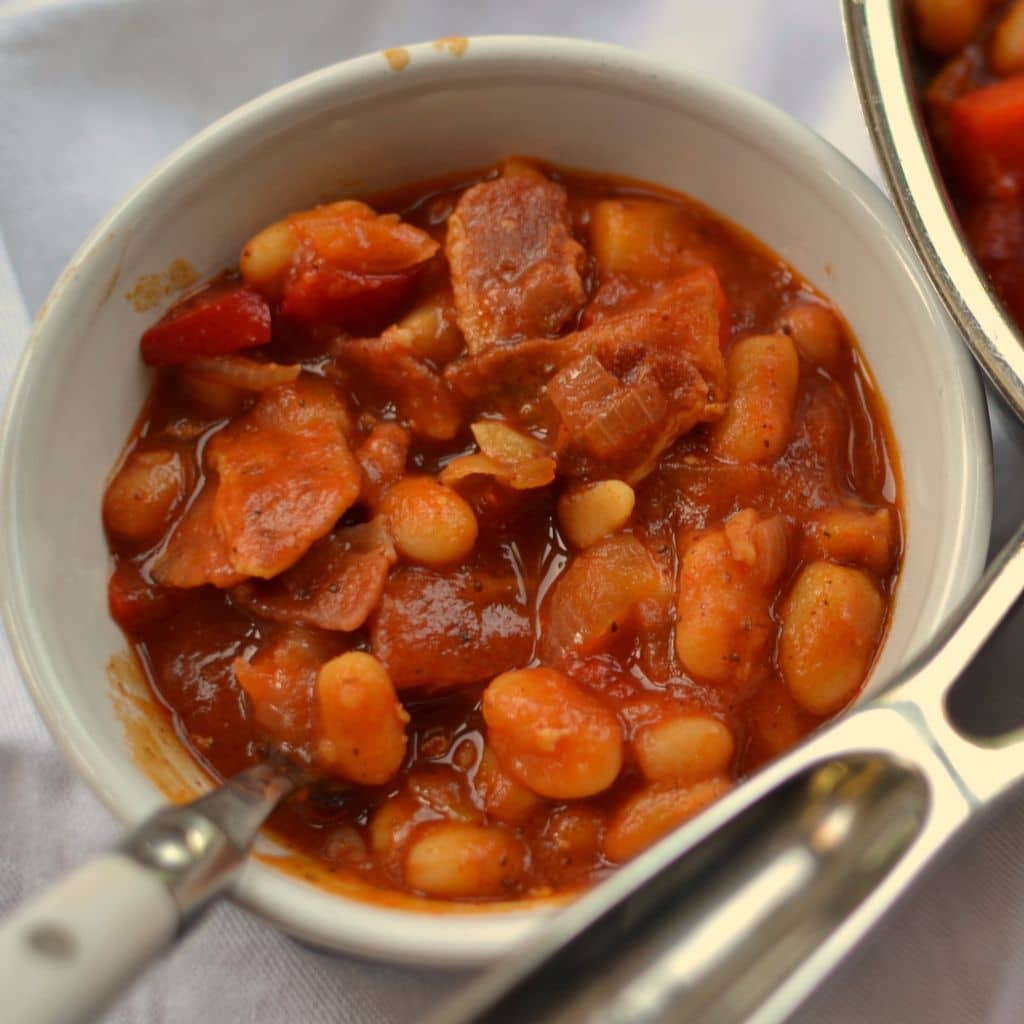 Baked Spicy Smokey White Beans (8)