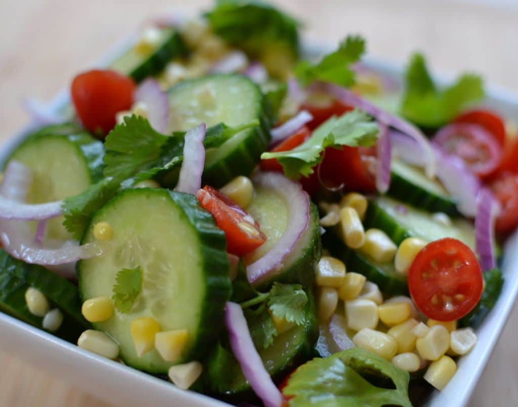 Cucumber Salad with Lime Vinaigrette (3)