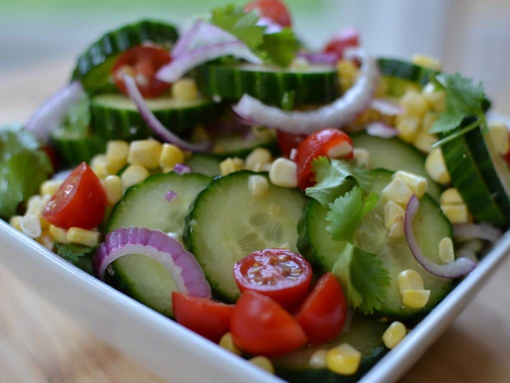 Cucumber Salad with Lime Vinaigrette (4)
