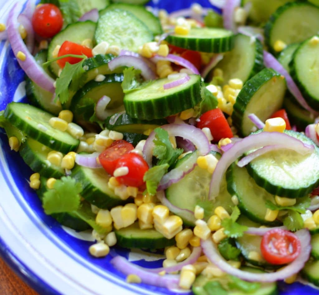 Cucumber Salad with Lime Vinaigrette