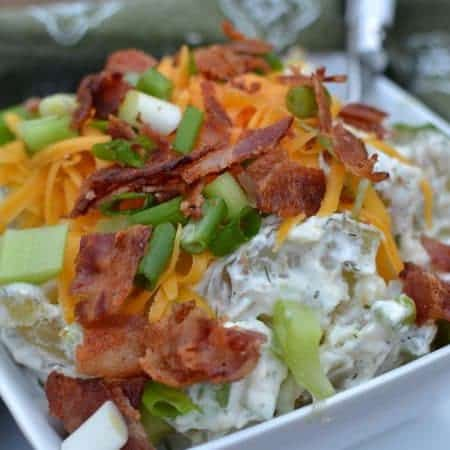Truly Baked Loaded Potato Salad