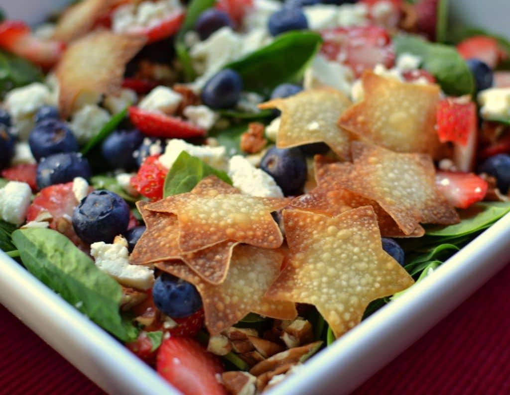 Red White & Blue Patriotic Salad (4)