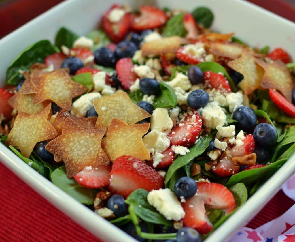Red White & Blue Patriotic Salad (5)