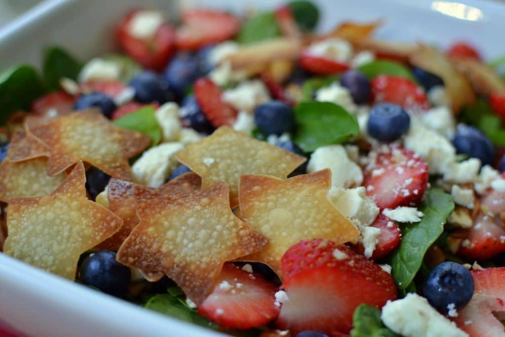 Red White & Blue Patriotic Salad