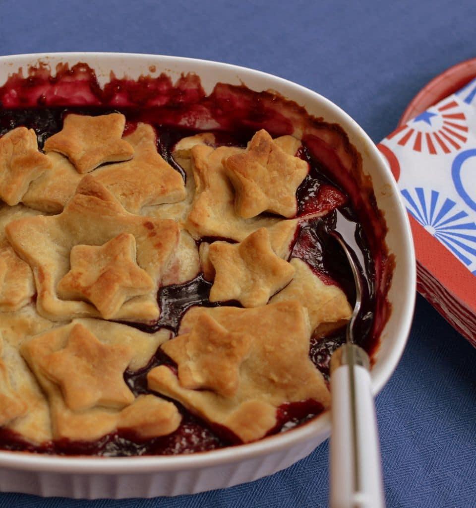 Strawberry Blueberry Blackberry Pie Cobbler (2)