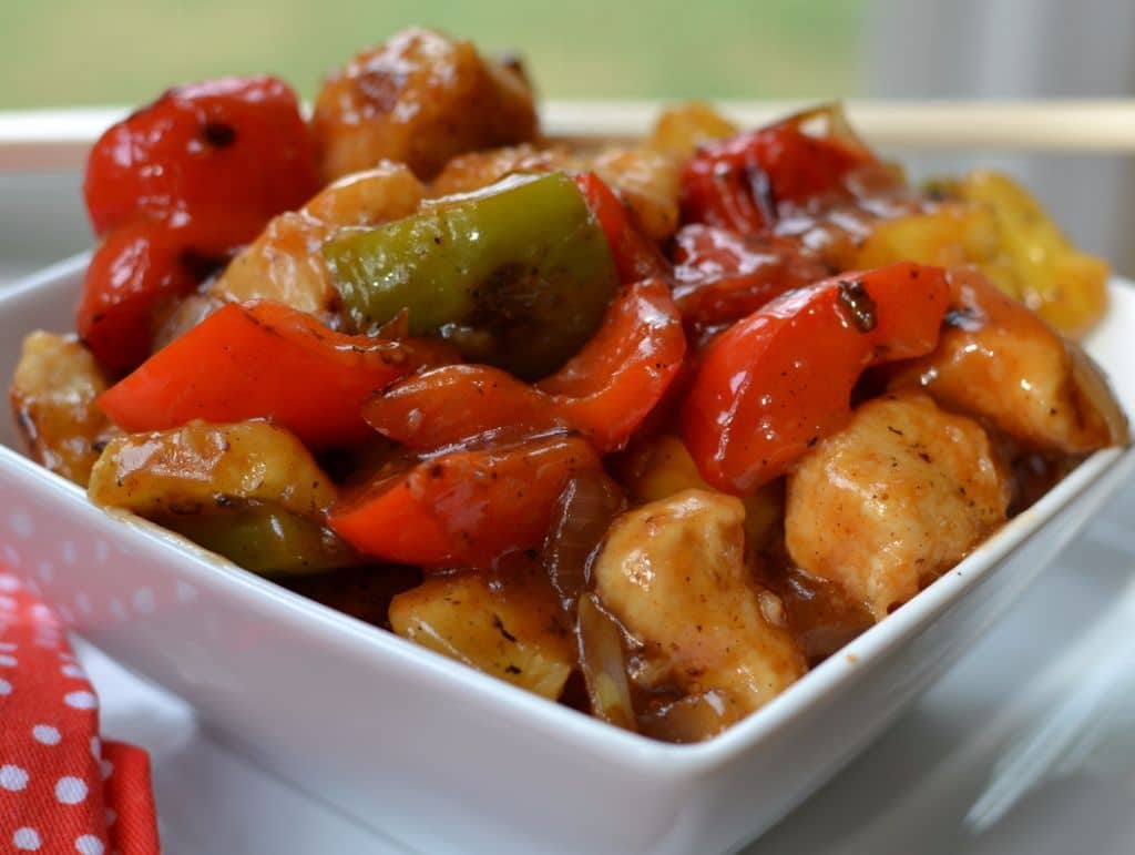 Sweet & Sour Chicken (2)