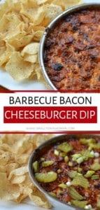 Barbecue Bacon Cheeseburger Dip