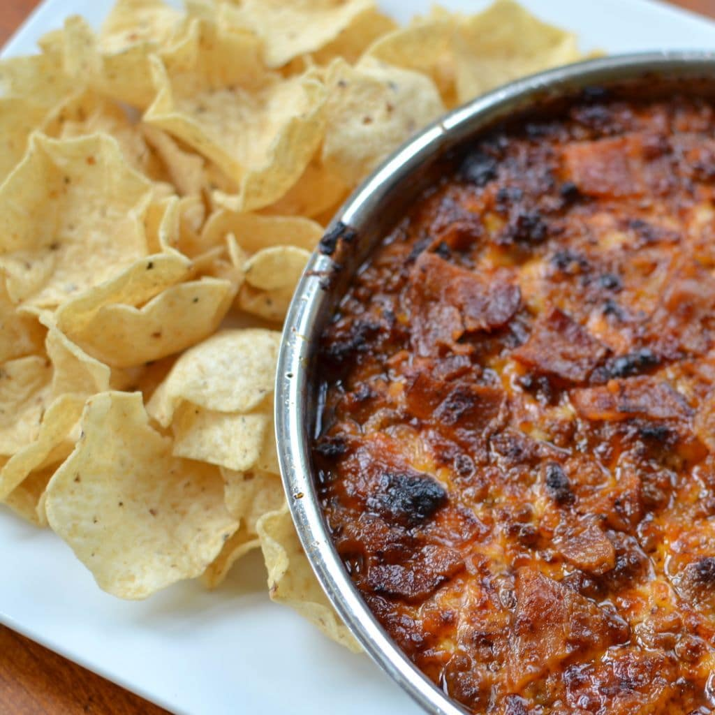 Barbecue Bacon Cheeseburger Dip