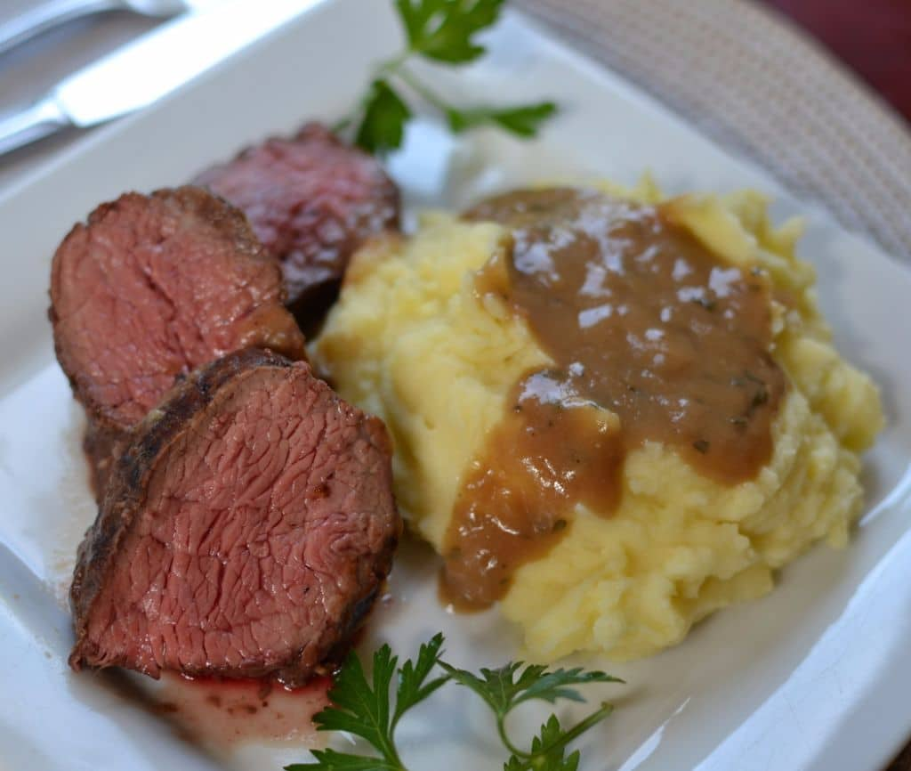 Petite Beef Shoulder With Homemade Pan Gravy Small Town Woman