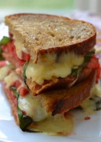Caprese Grilled Cheese (5)