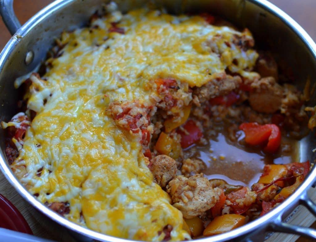Chicken Fajita Rice Casserole (5)