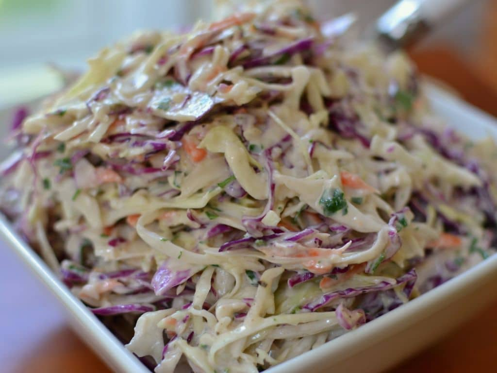 Creamy Parsley Coleslaw