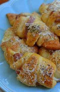 Ham Swiss Parmesan Crescents (6)