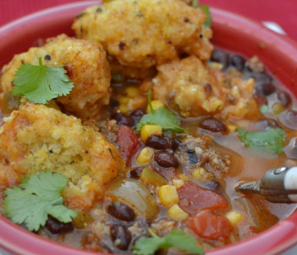 Southwest Chowder with Cornbread Dumplings (9)