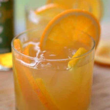 Orange Whiskey Sour