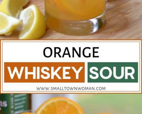 Orange Whiskey Sour