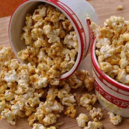 Almond Caramel Popcorn