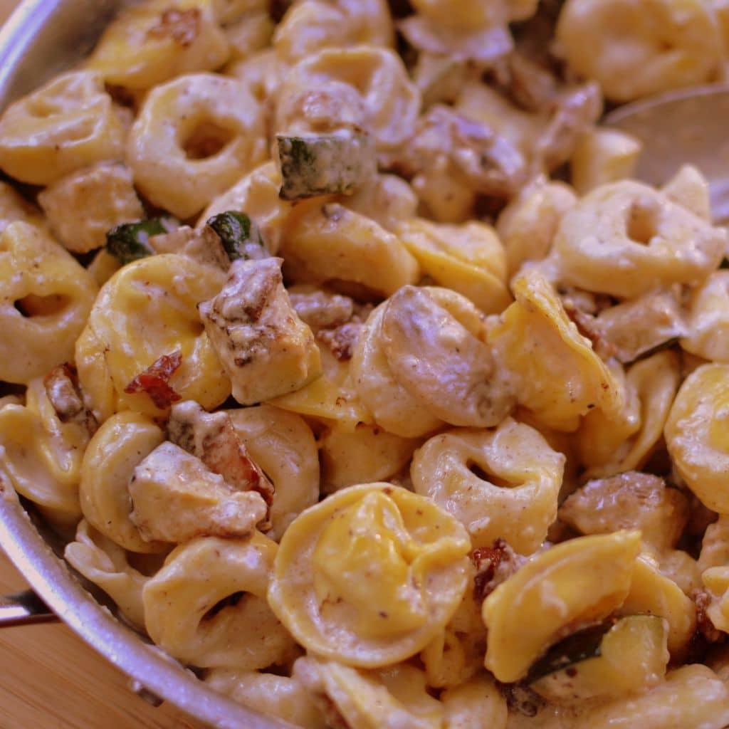 Bacon Mushroom Zucchini Tortellini (2)