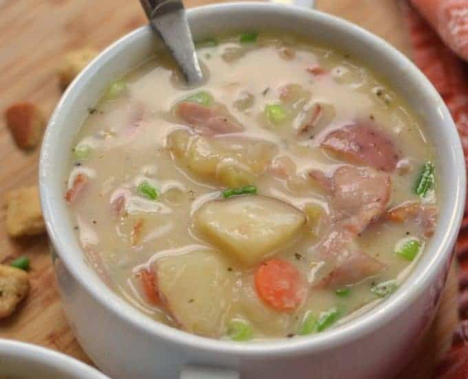 Creamy Potato Ham Soup