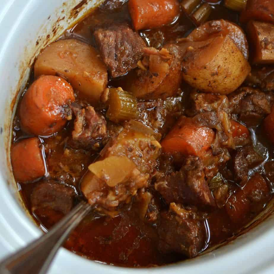 Crock Pot Beef Stew For Two Small Town Woman