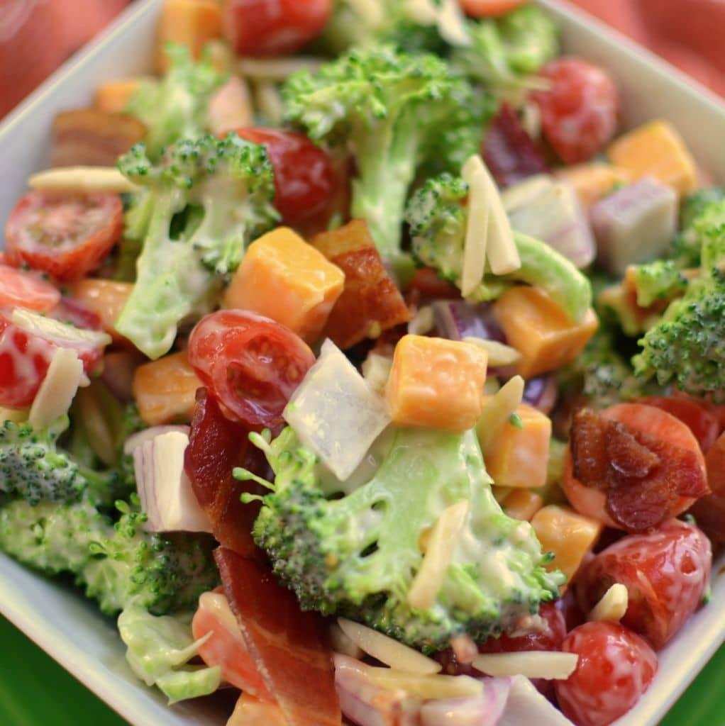 Bacon Egg Lettuce Tomato Pasta Salad | Small Town Woman