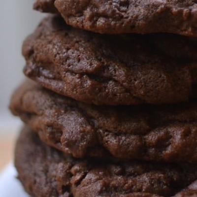 Triple Chocolate Chunk Cookies