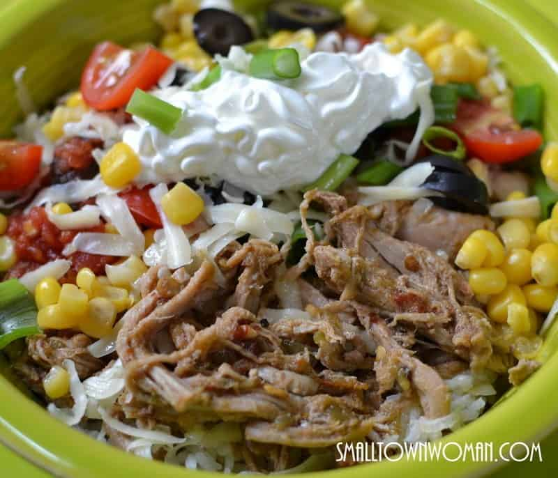 Mexican Pork & Rice Bowl