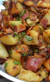 Skillet German Potato Salad (10)