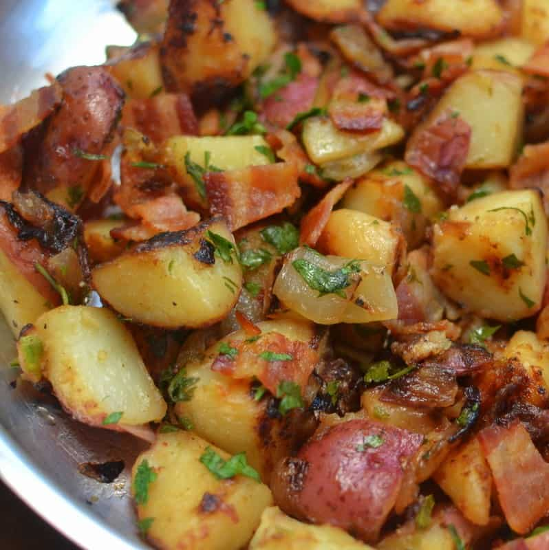 Skillet German Potato Salad (2)