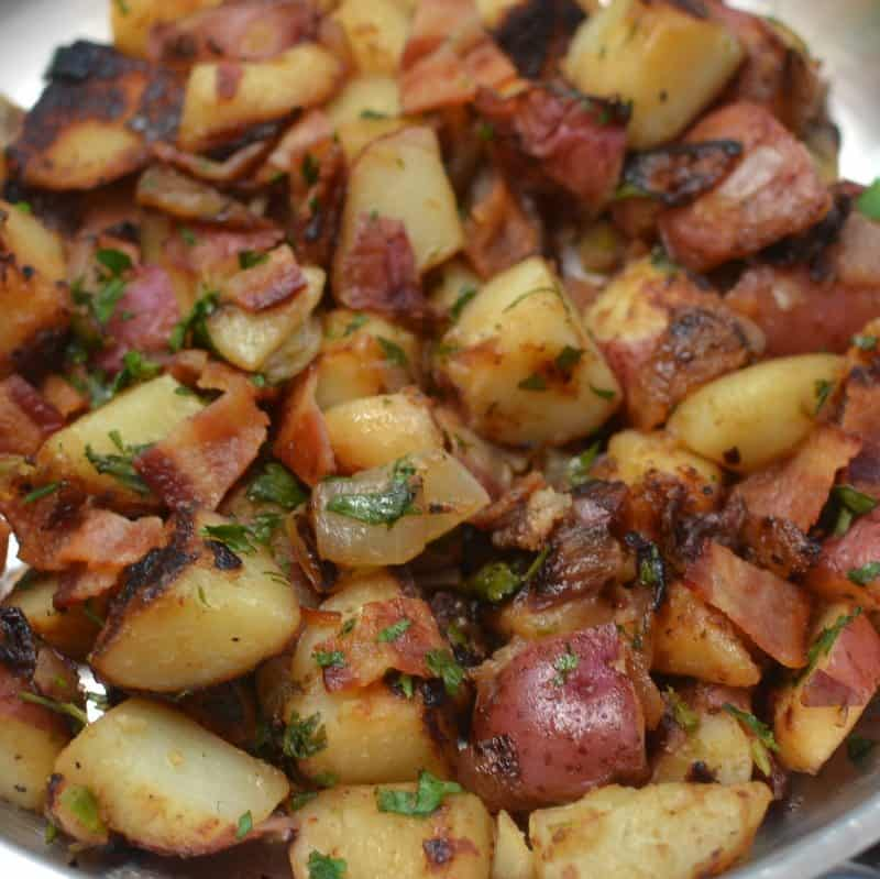 Skillet German Potato Salad (3)
