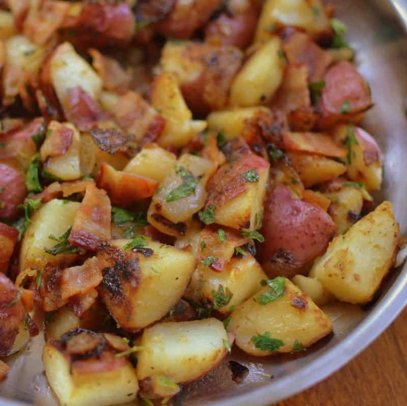 Mouthwatering Good Skillet German Potato Salad
