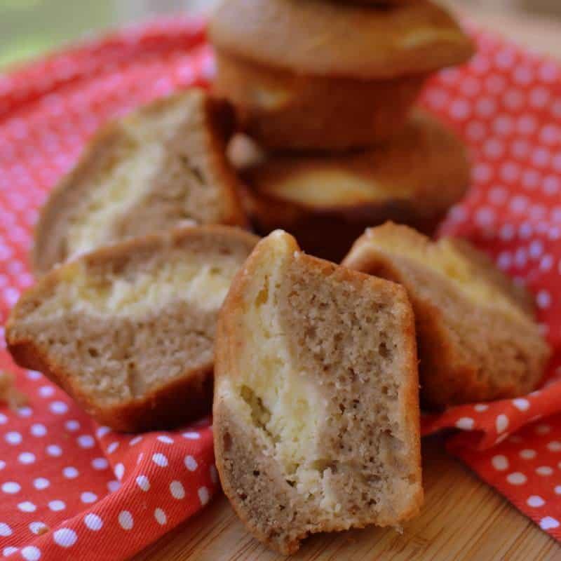 Strawberry Cream Cheese Muffins (6)