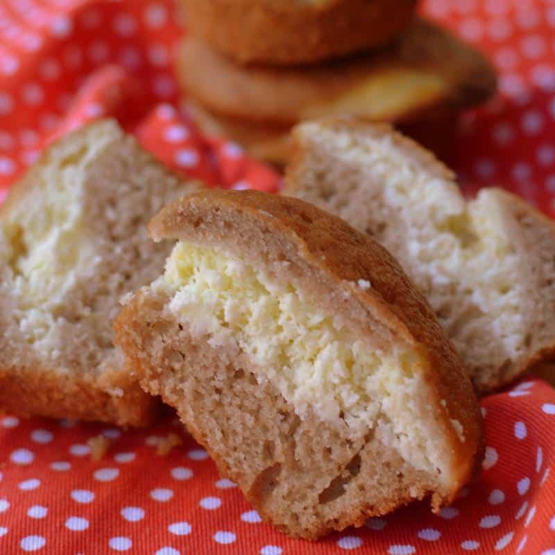 Strawberry Cream Cheese Muffins (8)