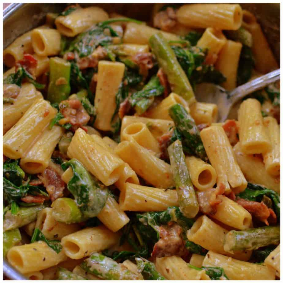 bacon-asparagus-cajun-pasta-picmonkey-collage