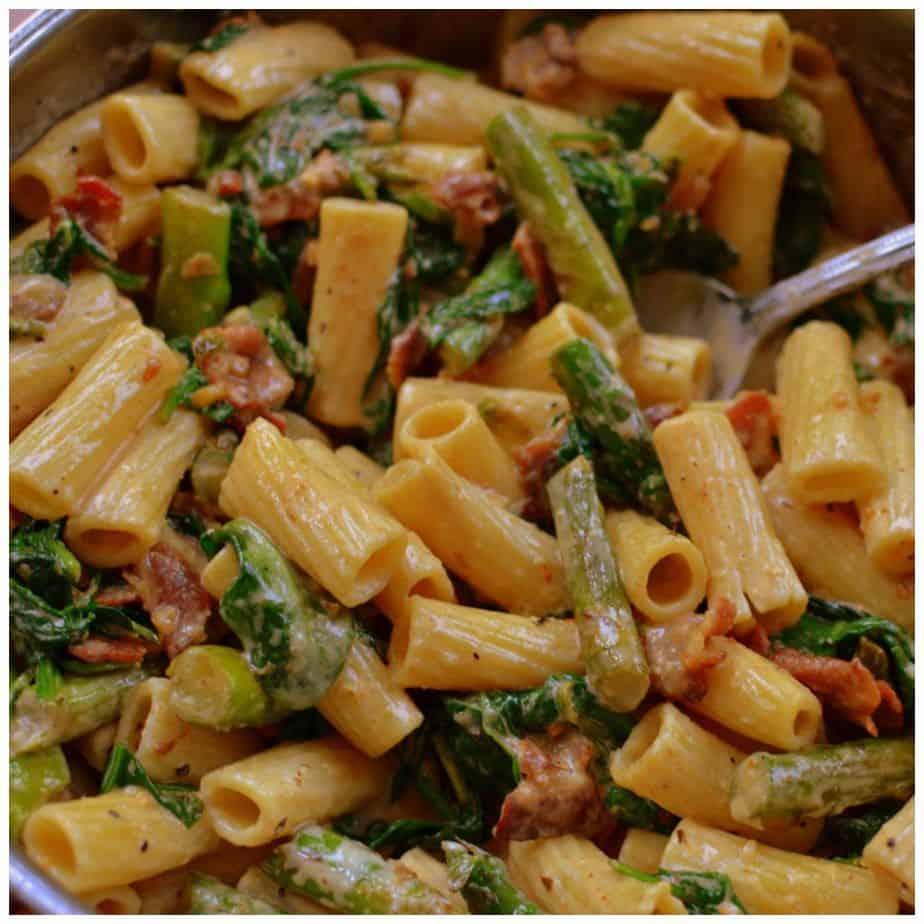 bacon-asparagus-cajun-pasta-picmonkey-collage