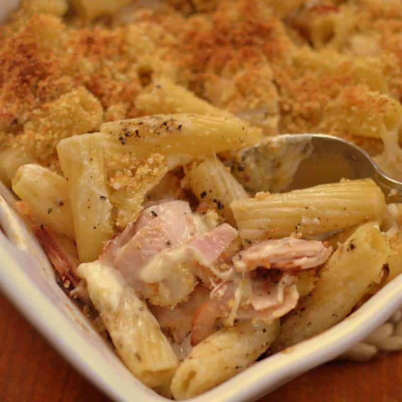 Chicken Cordon Bleu Pasta Caserole (2)-001
