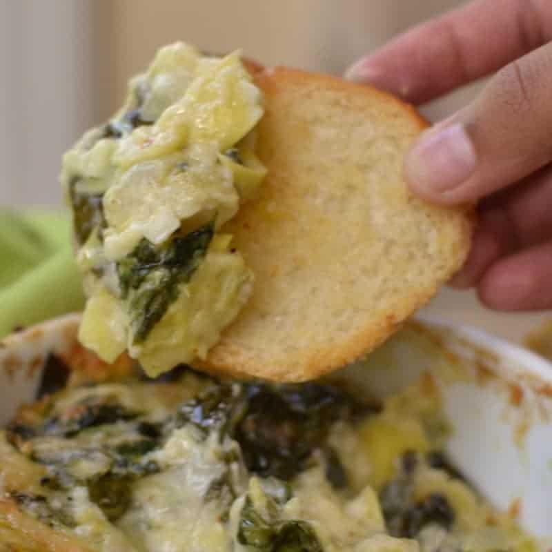 Hot Spinach Artichoke Dip (2)
