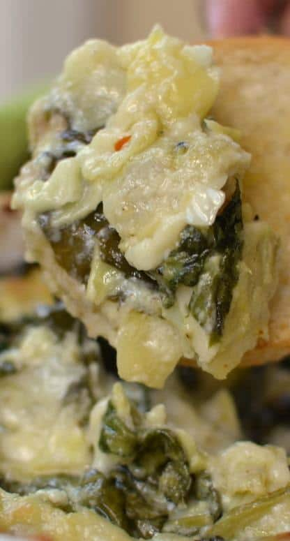 Hot Spinach Artichoke Dip | Small Town Woman