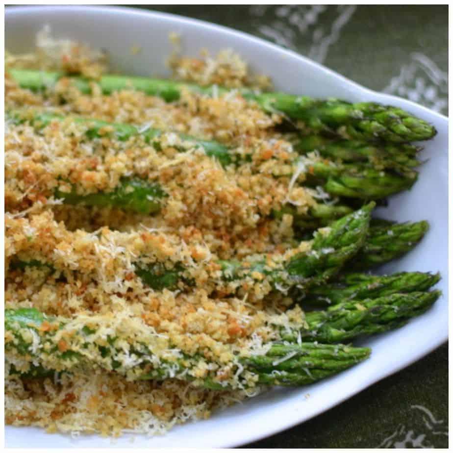 Parmesan Crumb Asparagus PicMonkey Collage
