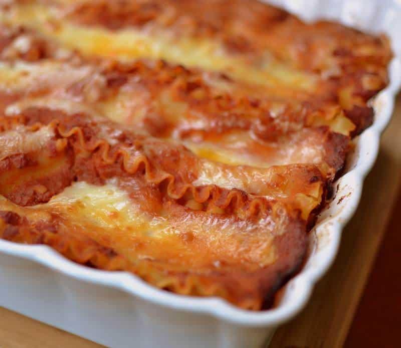 sausage-four-cheese-lasagna