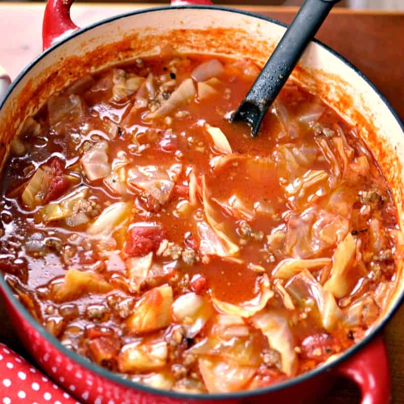 This hearty family friendly soup is flavor packed and full of wholesome ingredients.
