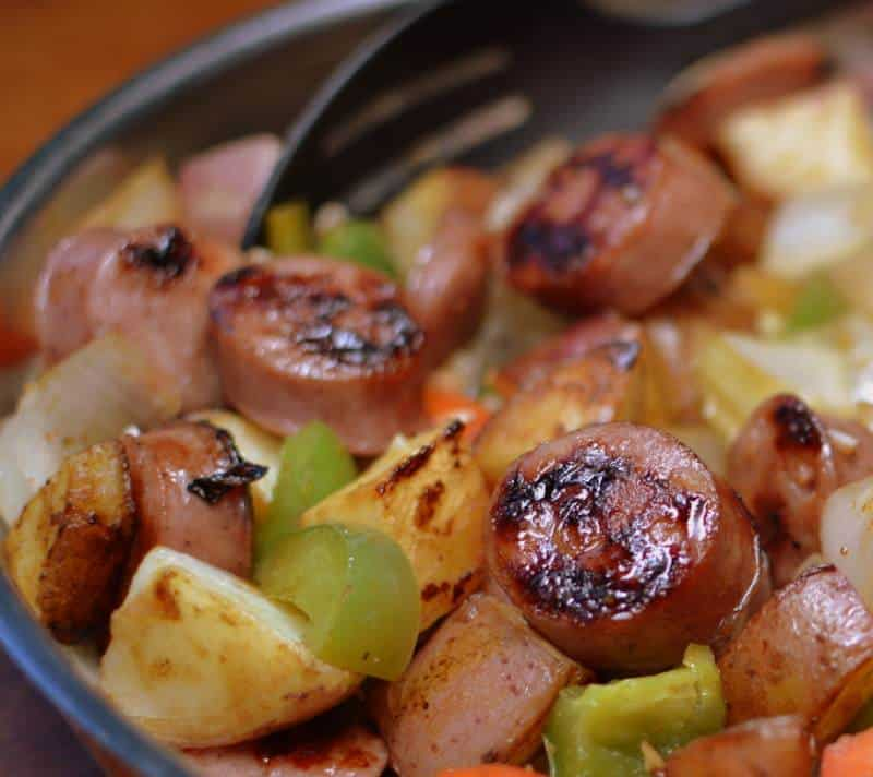 skillet-sausage-and-potatoes